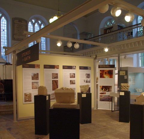 Inside the Building of Bath Collection Museum