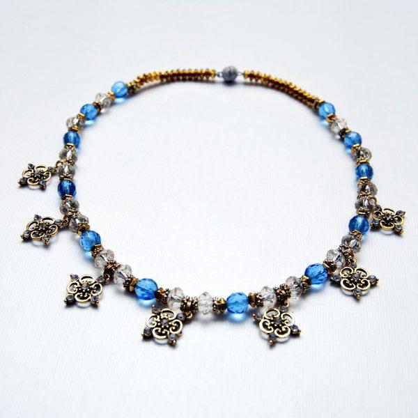 necklaceblueonesquare